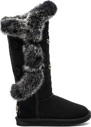 Australia Luxe Collective , Nordic Angel X Tall Rabbit Fur And Shearling Boot