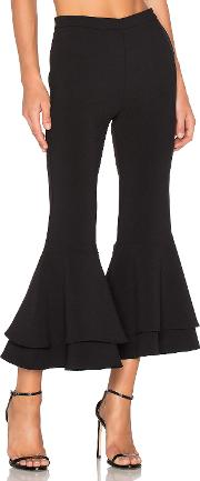 Backstage , X Revolve Supafly Crop Double Ruffle Pant