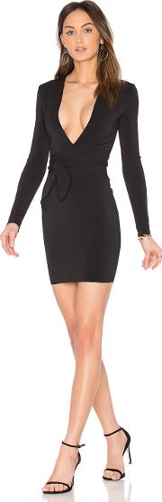 Bec&bridge , India Rosa Long Sleeve Tie Dress