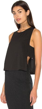 Bella Luxx , Moss Crepe Panel Top