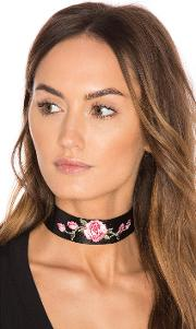 Child Of Wild , Wild Rose Leather Choker