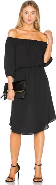 Eight Sixty , Off The Shoulder Midi Dress