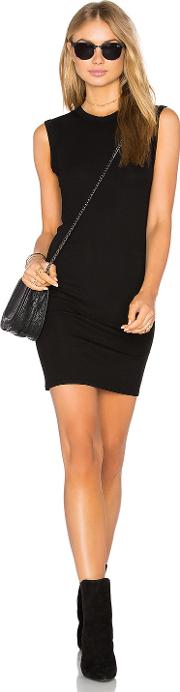 Enza Costa , Rib Sleeveless Mini Dress