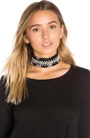 Fallon , Monarch Diamante Bandana Choker