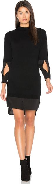 Halston Heritage , Mock Neck Sweater Dress