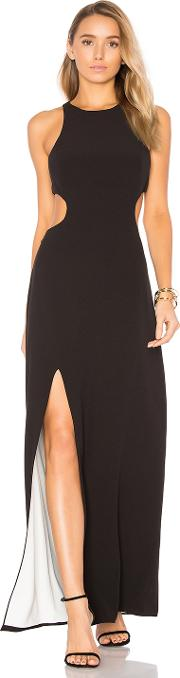 Halston Heritage , Sleeveless Cut Out Gown