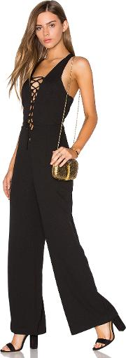 Lucca Couture , Lace Up Jumpsuit