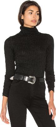 Michael Stars , Long Sleeve Turtleneck Top
