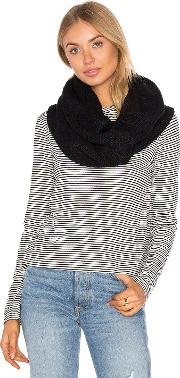 Plush , Fleece Lined Chunky Knit Scarf