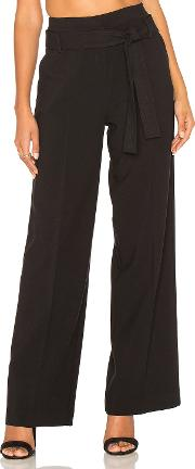 Stella Forest , Wide Leg Tied Waist Pant