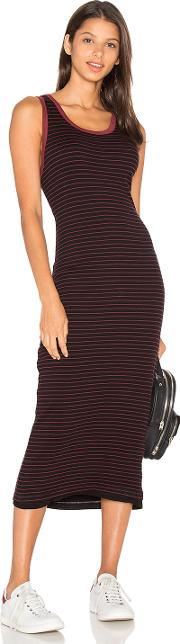 Sundry , Fitted Midi Dress
