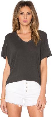 The Great , Lace U Neck Tee