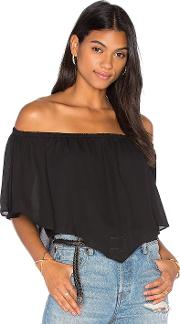 Three Eighty Two , Fiona Off Shoulder Ruffle Top