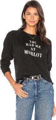 Tyler Jacobs , You Had Me At Merlot Starria Pullover