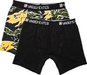 Undefeated , 2 Pack Boxer Shorts