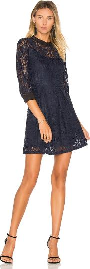 Bcbgeneration , Lace Fit & Flare Dress