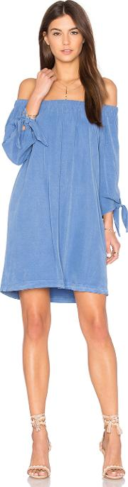 Maven West , Off Shoulder Knot Dress