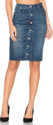 Mcguire , Marino Button Front Skirt