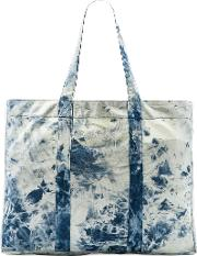 Stussy , Acid Wash Beach Tote Bag
