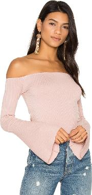 Michael Lauren , Hyatt Off Shoulder Bell Sleeve Top