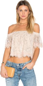 Endless Rose , Off The Shoulder Lace Top