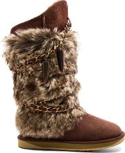 Australia Luxe Collective , Atilla Boot With Faux Fur