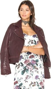 Baldwin , Jones Boyfriend Biker Jacket