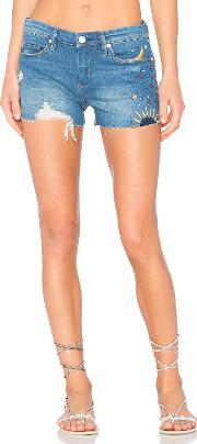 Blanknyc , Embroidered Short
