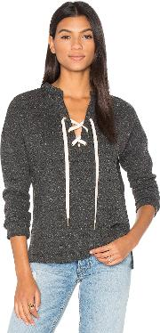 Maven West , Lace Up Sweatshirt