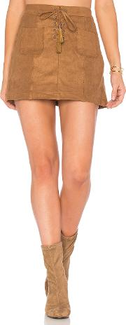 Ella Moss , Connelly Faux Suede Skirt
