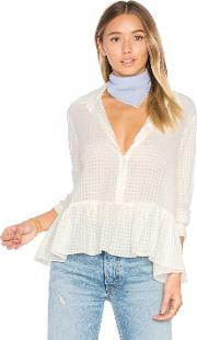 The Great , The Ruffle Oxford Top