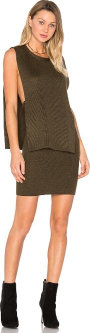 Olcay Gulsen , Solid Knit Open Side Sweater