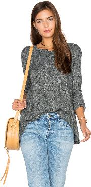 Wilt , Shifted Crew Trapeze Long Sleeve Top