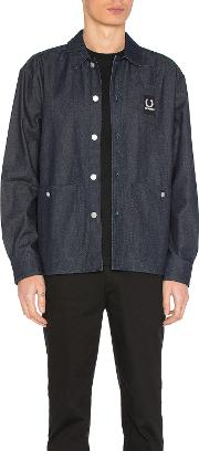 Fred Perry X Raf Simons , Denim Shirt Jacket
