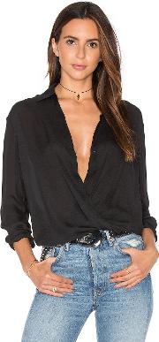 Vince , Wrap Blouse