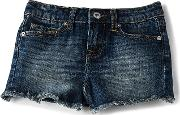 7 For All Mankind Kids , Frayed Edge Short