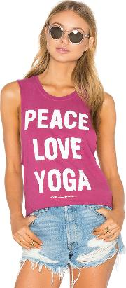 Spiritual Gangster , Peace Love & Yoga Tank