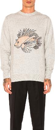 Barney Cools , Lion Fish Knit Pullover