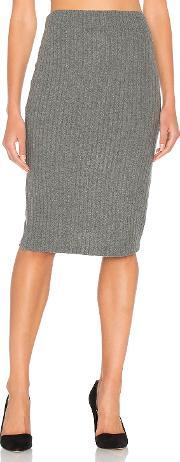 Bella Luxx , Plush Rib Tube Skirt