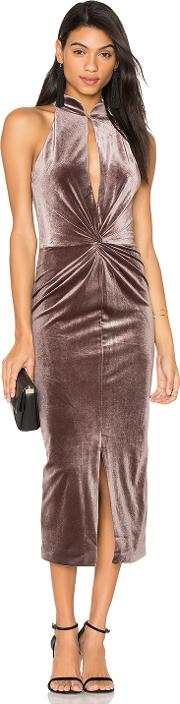 Lavish Alice , Velvet Twist Front Dress