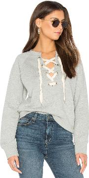 Sincerely Jules , Front Lace Sweatshirt