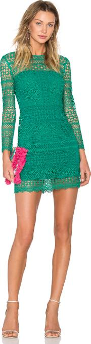 Cynthia Rowley , Patchwork Lace Shift Dress