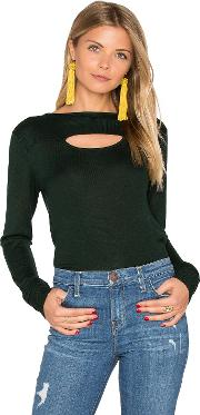 Hoss Intropia , Long Sleeve Front Cut Out Sweater