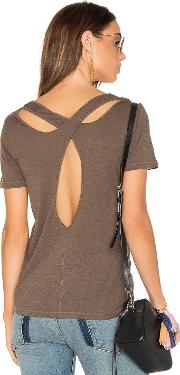 Splendid , Cross Back Slub Tee