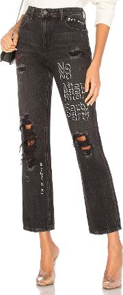 Denim X Alexander Wang , No After Party Cult Straight Jean