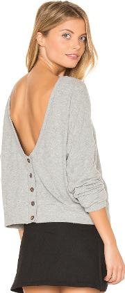 Project Social T , Index Button Back Cardigan