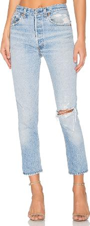 Redone , Levis High Rise Ankle Crop