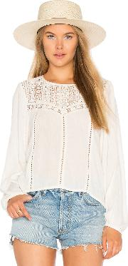 Amuse Society , Sunset Rose Woven Top