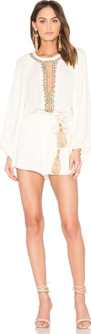 Farm , Embroidered Romper