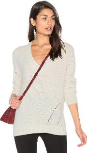 Fine Collection , Candice V Neck Sweater